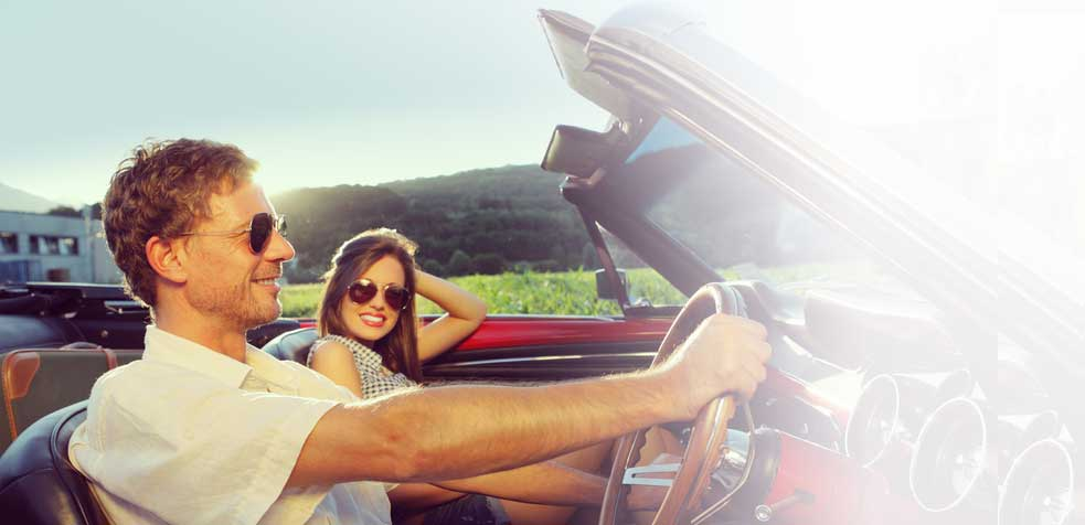 Hit the road with our great car rental deals