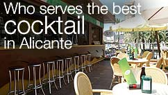 Who serves the best cocktail in Alicante?