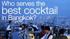 Who serves the best cocktail in bangkok?