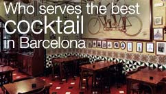 Who serves the best cocktail in Barcelona?
