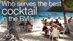 Who serves the best cocktail in British Virgin Islands?