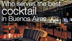 Who serves the best cocktail in Buenos Aires?