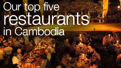 Our top five restaurants in the Cambodia