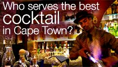 Who serves the best cocktail in Cape Town?