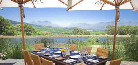 Fine food in the heart of the winelands