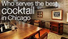 Who serves the best cocktail in Chicago?