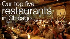 Our top five restaurants in the Chicago