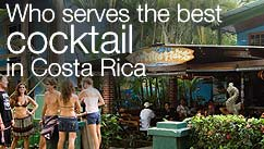 Who serves the best cocktail in Costa Rica?