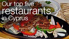 Our top five restaurants in the Cyprus