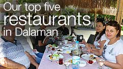 Our top five restaurants in the Dalaman