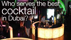 Who serves the best cocktail in Dubai?