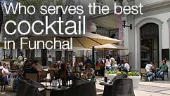 Who serves the best cocktail in Funchal?