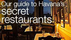 Our top five restaurants in the Havana