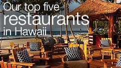 Our top five restaurants in the Hawaii