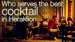 Who serves the best cocktail in Heraklion?