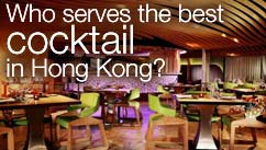 Who serves the best cocktail in Hong Kong?