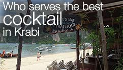 Who serves the best cocktail in Krabi?