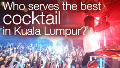 Who serves the best cocktail in Kuala Lumpur?