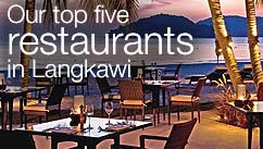 Our top 5 restaurants in Langkawi