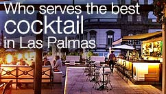 Who serves the best cocktail in Las Palmas?