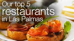 Our top five restaurants in the Las Palmas