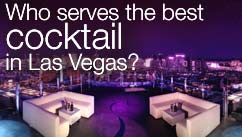 Who serves the best cocktail in Las Vegas?