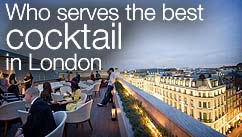 Who serves the best cocktail in London?