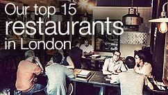 Our top five restaurants in the London