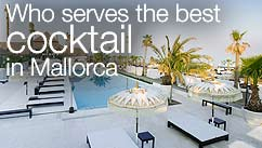 Who serves the best cocktail in Mallorca?