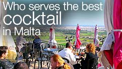 Who serves the best cocktail in Malta?
