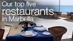 Our top five restaurants in the Marbella