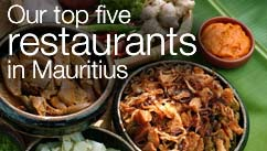 Our top five restaurants in the Mauritius