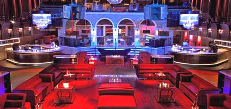 Nightclub for the rich and famous