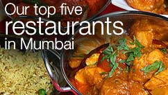 Our top five restaurants in the Mumbai