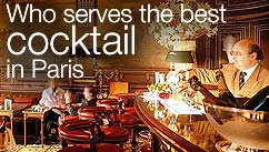 Who serves the best cocktail in Paris?