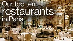 Our top five restaurants in the Paris