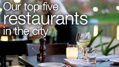 Our top five restaurants in the Perth