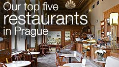 Our top five restaurants in the Prague