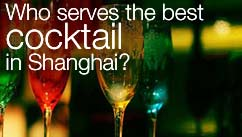 Who serves the best cocktail in Shanghai?