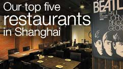 Our top five restaurants in the Shanghai