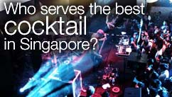Who serves the best cocktail in Singapore?