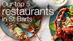 Our top five restaurants in the St Barts