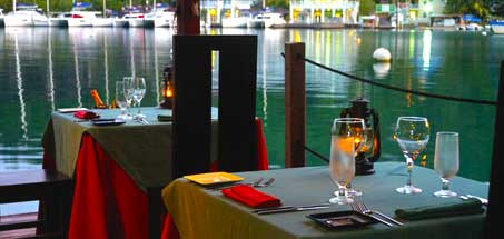 Sail to an over-the-sea dinner