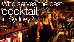 Who serves the best cocktail in Sydney?
