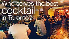 Who serves the best cocktail in Toronto?