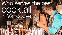 Who serves the best cocktail in Vancouver?