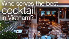 Who serves the best cocktail in Vietnam?