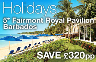 DialAFlight Holidays - Save £320pp in 5 star Barbados