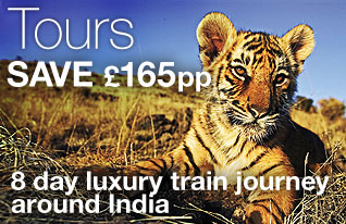 DialAFlight Holidays - Save £165pp on a luxury Indian train journey