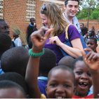Our staff help to build a school in Malawi's capital